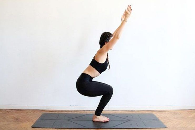 Utktsana (Chair Pose)