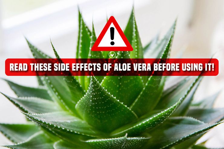 Side effects of aloe vera