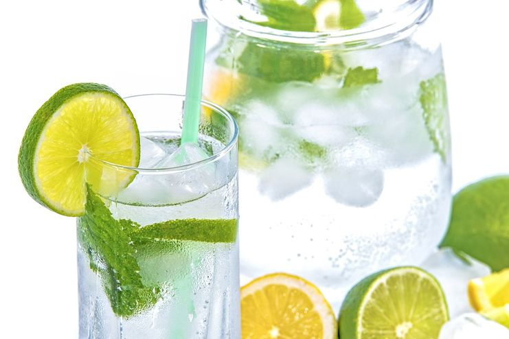 Lemon water for depletion of excess water