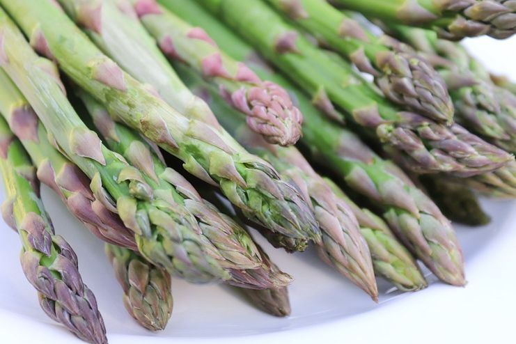 Asparagus for excretion of excess water