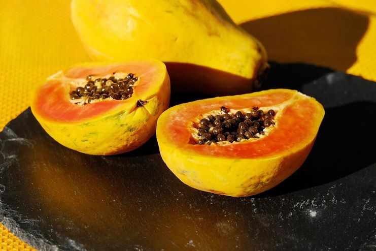 Papaya for improved digestion
