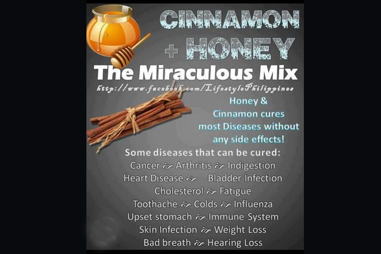 Honey and Cinnamon helps prevent cancer
