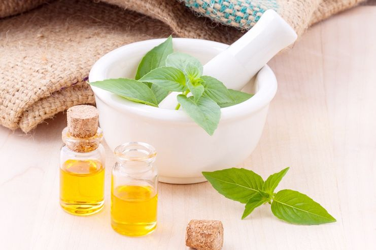 Essential oil to remove