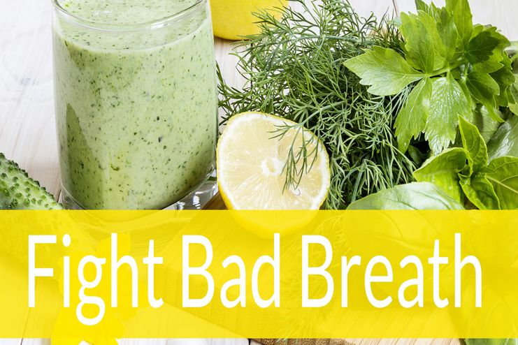 Foods Good for Bad Breath