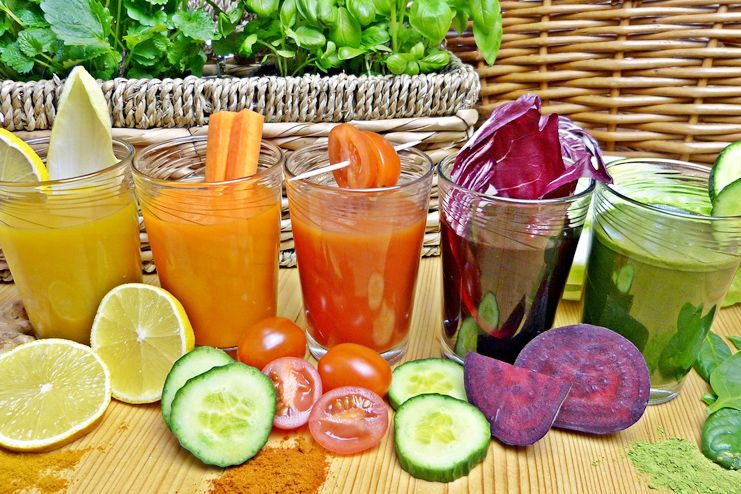 Juices for Sour Stomach