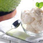 Soursop ice-cream