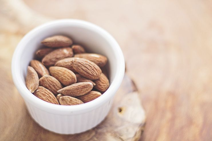 Almonds to suppress appetite