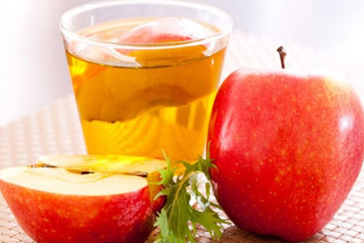 Apple cider vinegar for blood cleansing