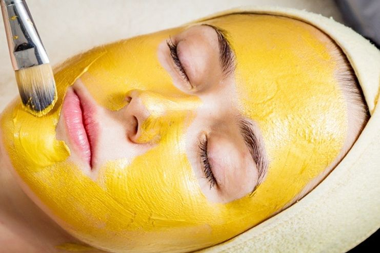 Facial Hair Removal with Gram Flour
