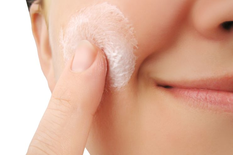 What to do after removing facial hair