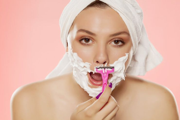 Causes of facial hair in women