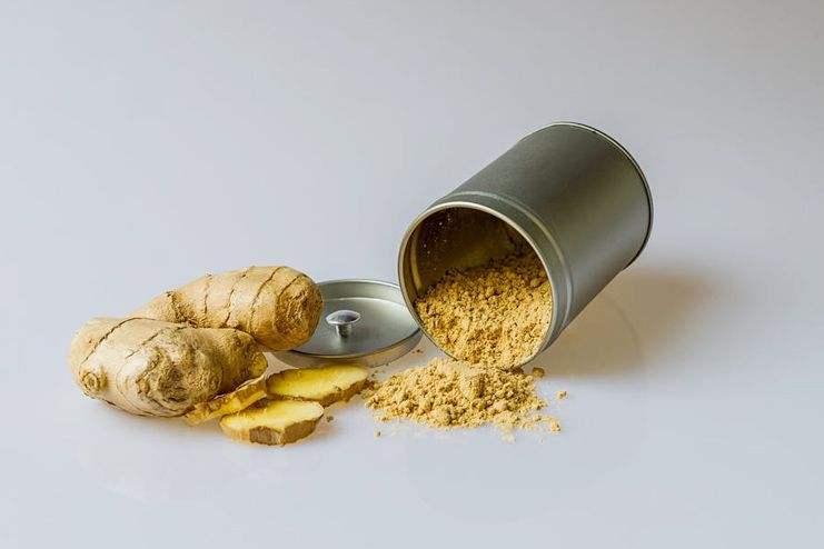 Ginger to suppress appetite