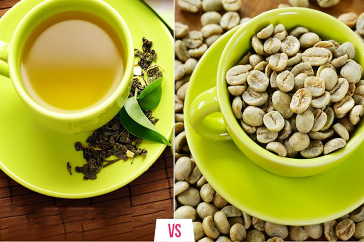 Green Tea v Green Coffee