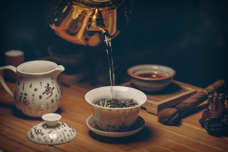 Green Tea to suppress appetite