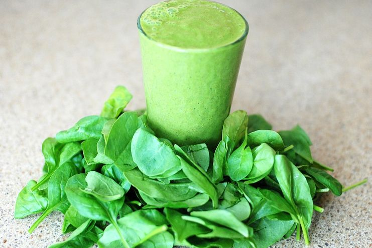 Green leafy vegetables to suppress appetite