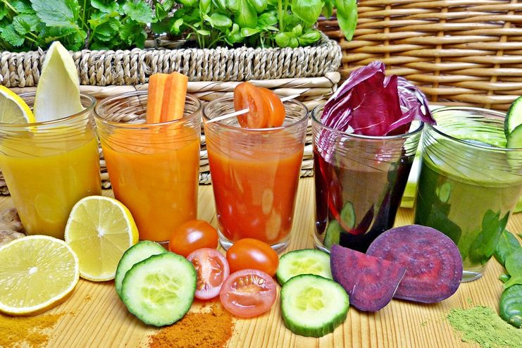 Juices for hot flashes