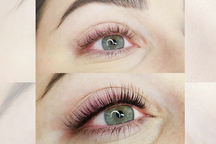 Keratin for eyelashes