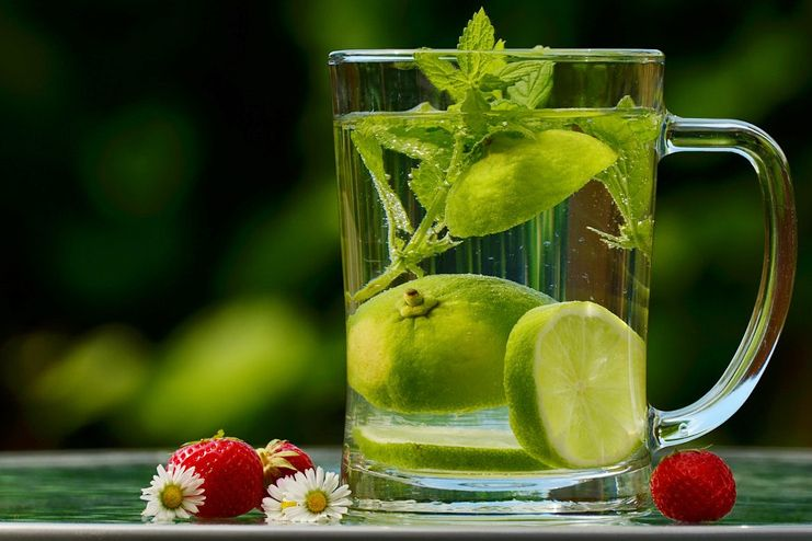 Lemon water for blood cleansing