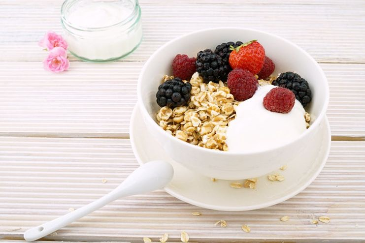 Oat bran to suppress appetite