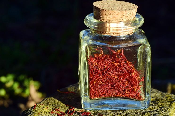 Saffron extract to suppress appetite