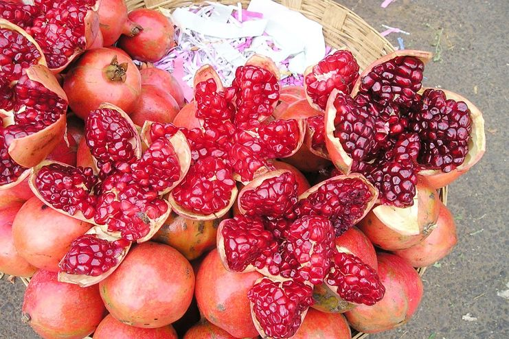 What are the health benefits of pomegranate