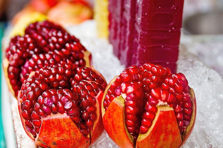 Who should not have pomegranate