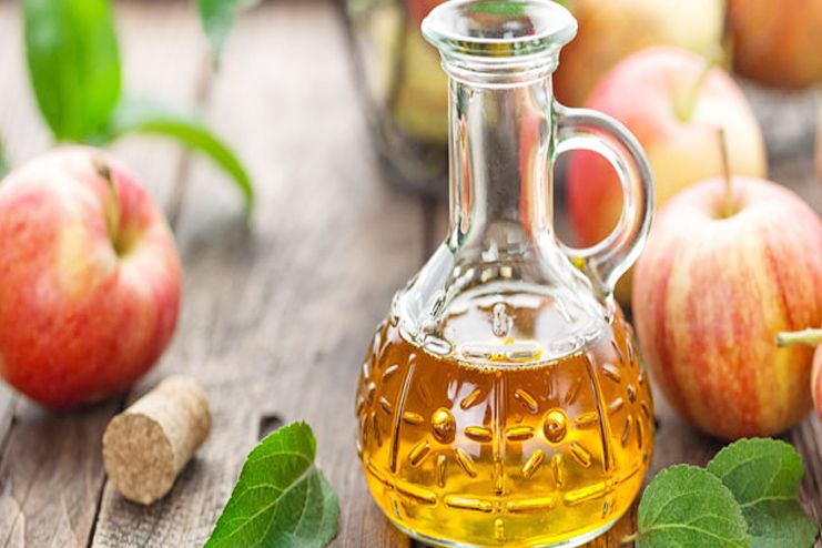 Apple cider vinegar for scabs on scalp