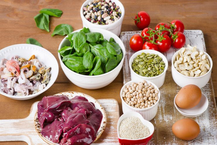 Consume Iron rich foods for anemia