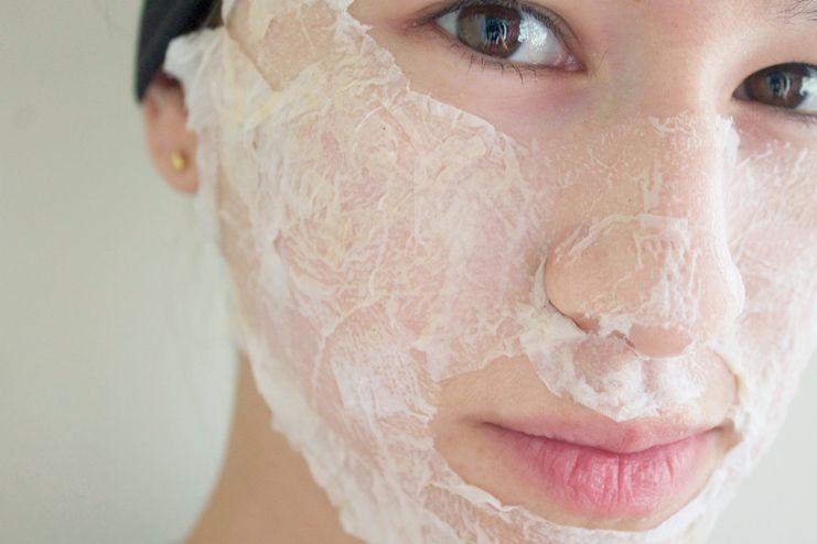 Egg white for upper lip hair removal
