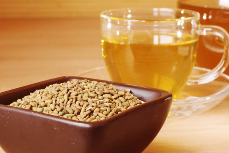 Fenugreek tea for motion sickness