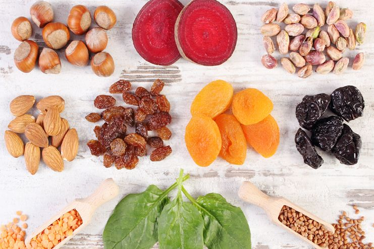 Foods high in Iron for Anemia Treatment