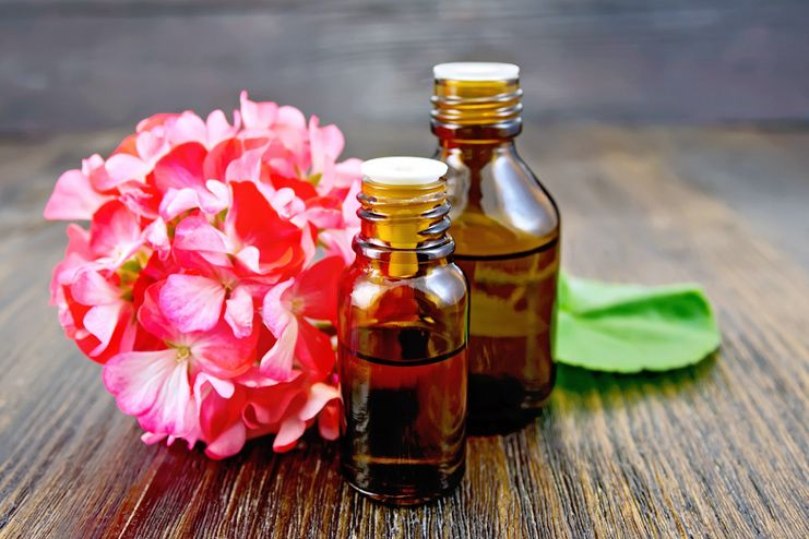 Geranium Essential Oil for Psoriasis