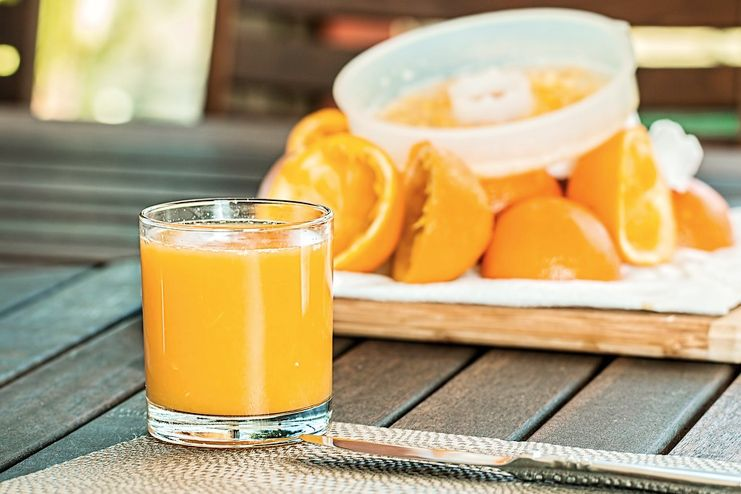 Orange Juice for Malaria treatment
