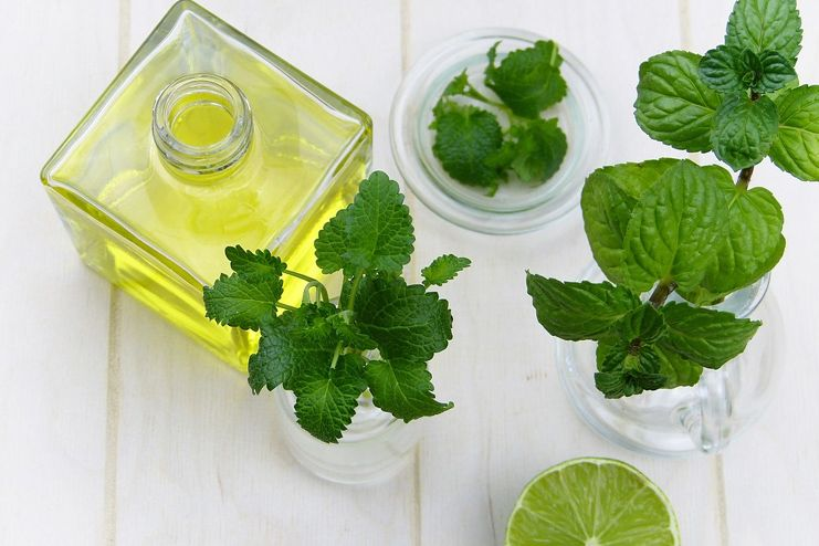 Peppermint oil for hickeys