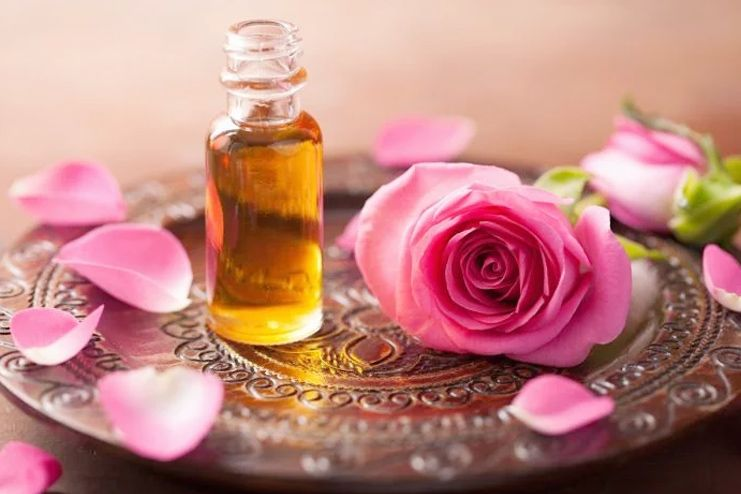 Rose Essential Oil for Psoriasis