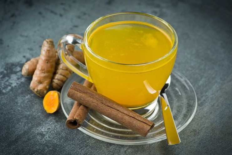 Turmeric and Ginger Tea for Weight Loss