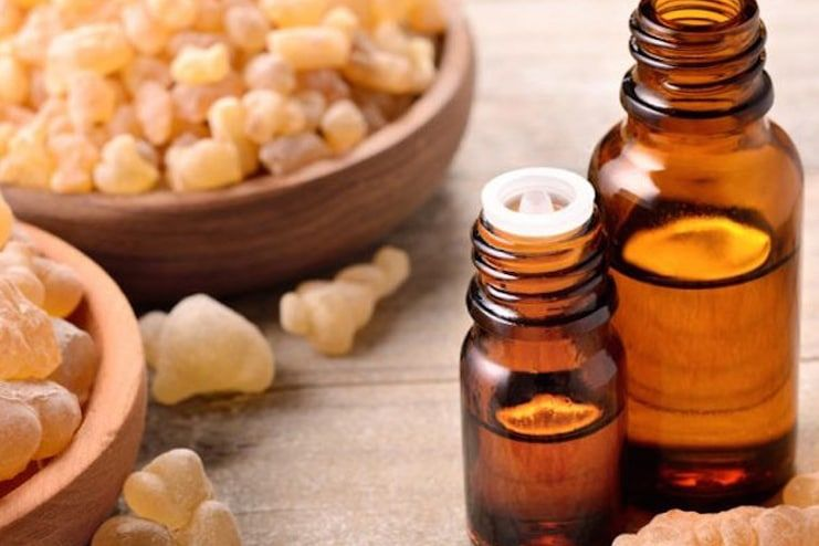 Frankincense Oil for Age Spots on Face