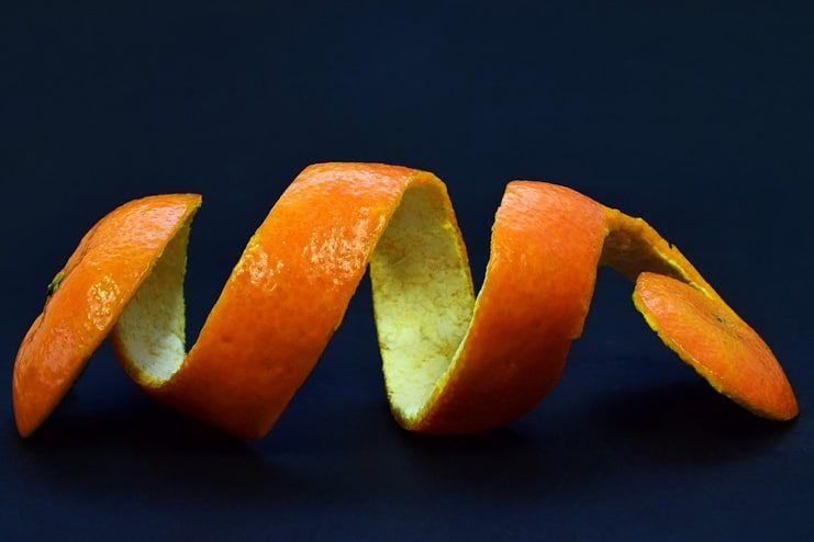 Orange Peel for Age Spots on Face