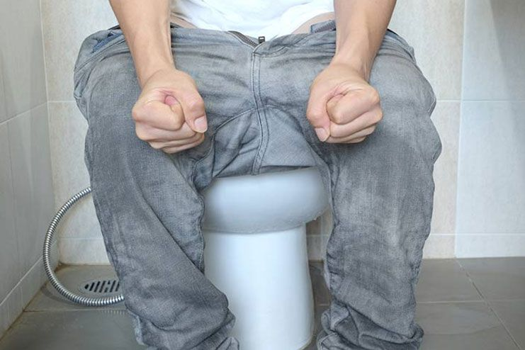Hot Water for Constipation