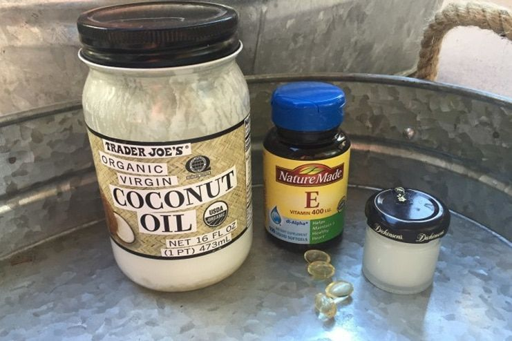 Vitamin E and Coconut Oil