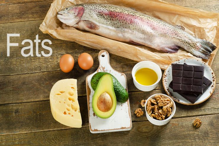 Consume healthy fats in your meal