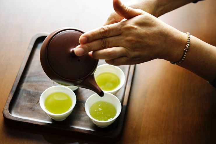 Drink Green Tea on regular intervals