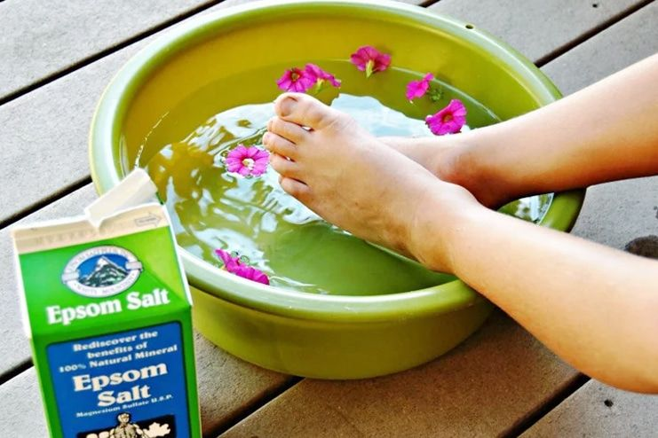 Epsom Salt for Foot Odor