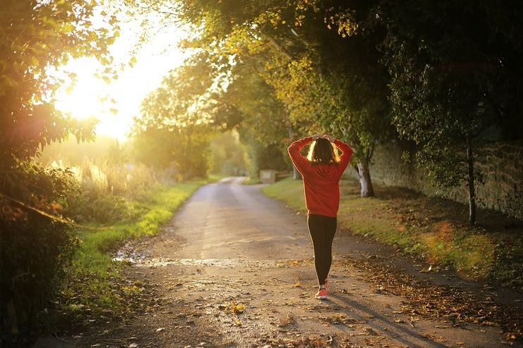 Take a Walk to get rid of flatulence