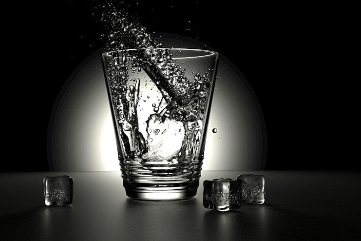 Drink more water to get rid of flatulence
