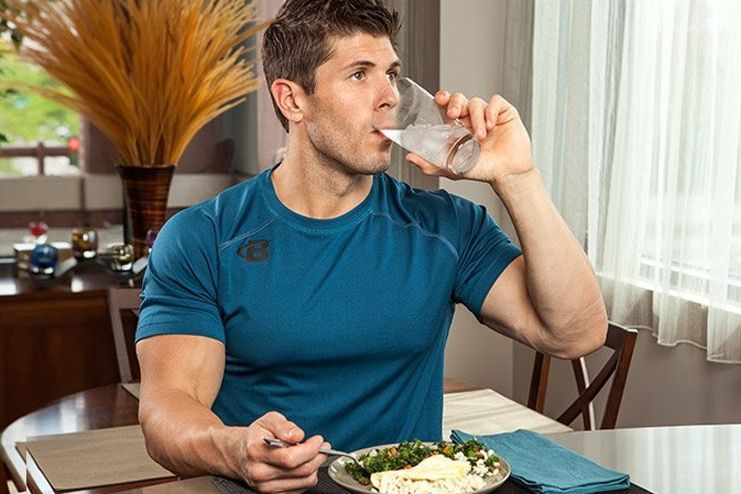Avoid drinking before meals