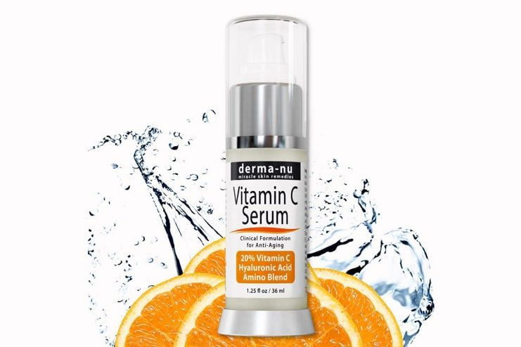 How to use the Vitamin C serum