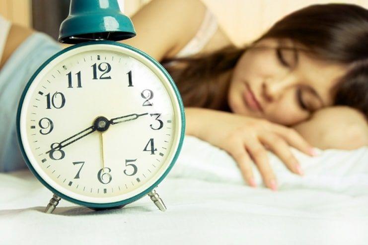 A distorted sleeping schedule