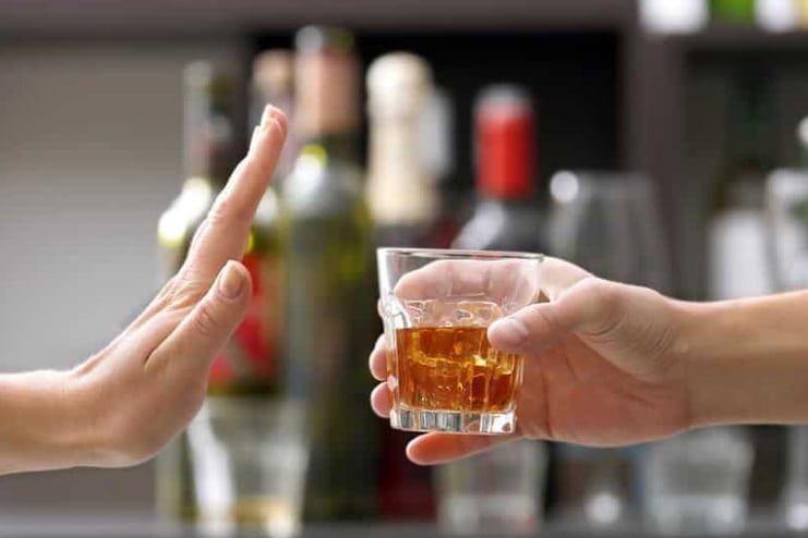 Avoid alcohol before bedtime