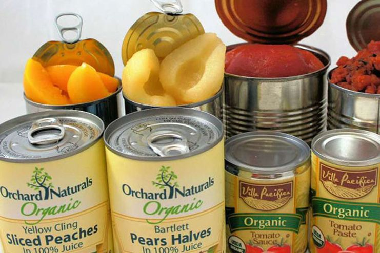 Avoid canned fruits